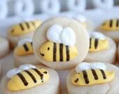 5 Dozen Bumbling Bee Cookie Nibbles