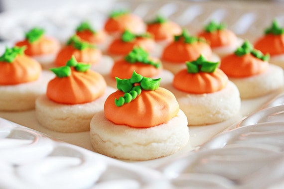 5 dozen Pumpkin cookie nibbles