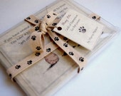 Funny Pet Notecards Blank with Decorated Envelopes for Pet Cat Dog Lovers 5 pack your choice of cards