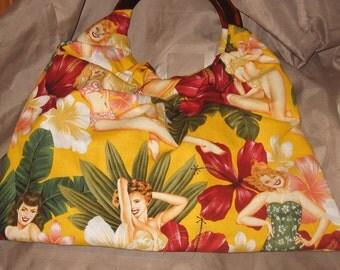 Pin up girl purse