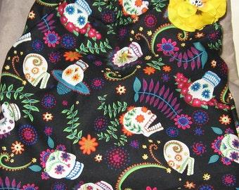 Colorful Skull purse