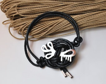 Bracelet  Key / Roses