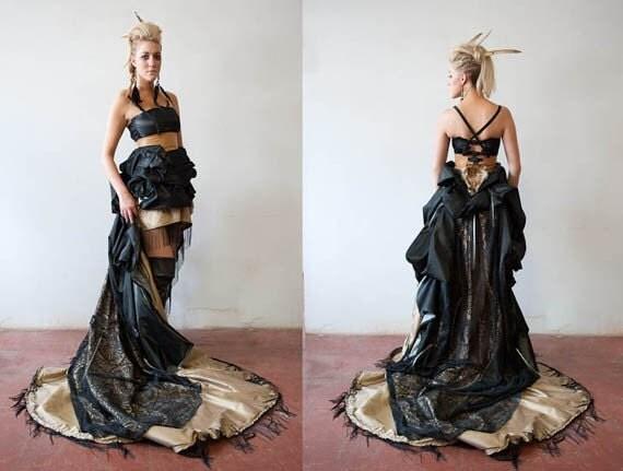 Victorian Peek-a-Boo Gown