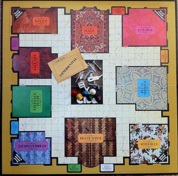 1972 Clue Board Game