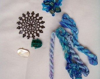BLUE Embellishment Pack