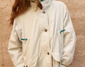 PARKA 90s oxford twin peaks TOGGLE hooded pacific northwest warm JACKET coat