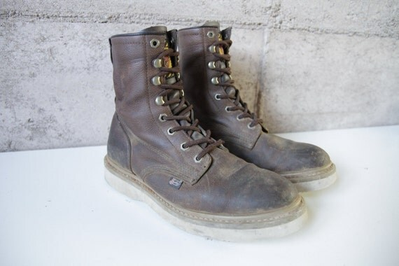 s size 9 justin brand hiking combat grunge size 9
