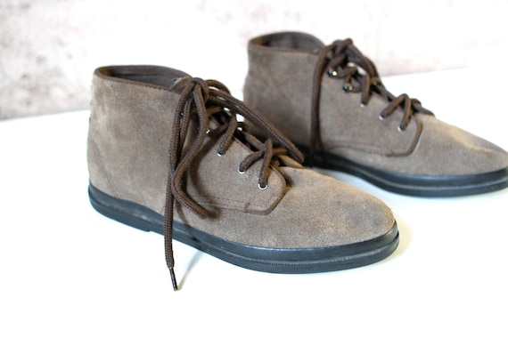 Women's Size 8 9 80s 90s HIGH top KEDS rare style ankle BOOTIES