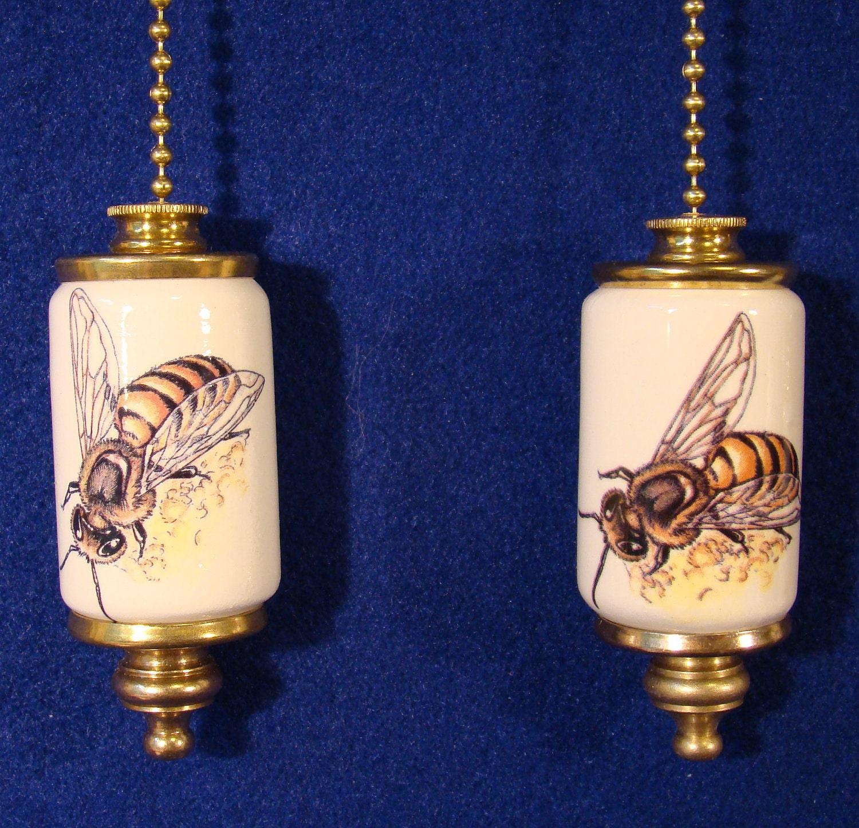 Honey Bee Fan & Light Ceiling Fan Pull Chain By