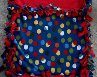 Baby Fleece Tie Blanket