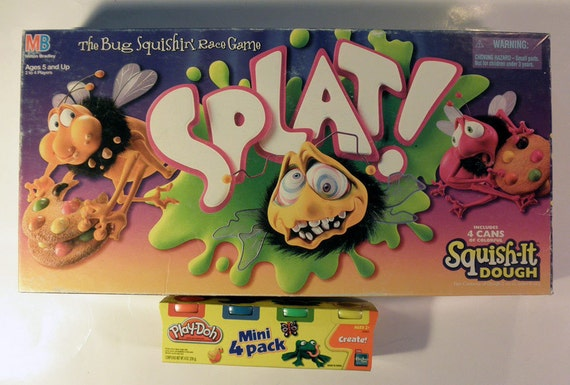 Board Games to Play Play-doh Board Game 1990 w