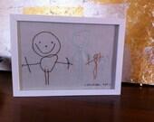 Customised Stitched Children's Artwork