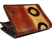 Genuine Men's Leather Wallet - Oreo