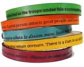 Leather Wrap Bracelet - Personalized Bracelet - Engraved Bracelet - Mens Leather Cuff