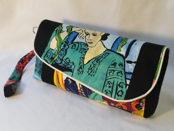 The women, clutch ( tribute to Matisse). FREE SHIPPING