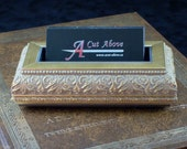 Desktop Business Card Holder  (Elizabeth)