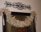 Burlap Garland, Wedding, Shower, Party, Photo Prop, Home Decor, Rustic, Shabby, Western, Country, Cottage, Farmhouse