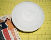 """White Elastic One Inch, 1"""" TWO Rolls, 50 Yards Many Available Craft Supplies YacketUSA"""