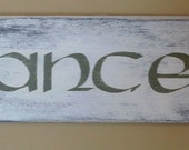 Vintage Irish Dance Sign