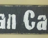 Primitive Man Cave Sign