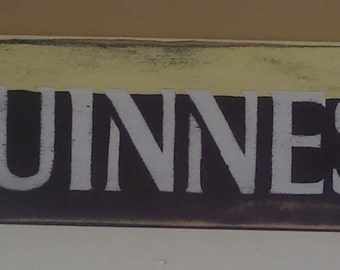 Vintage Styled Guinness Sign