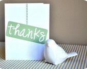 Thanks Sign Thank You Notes (Handmade)