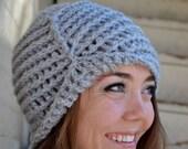 grey vintage cap