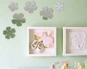Mirror Silhouette Wall Decor - Set of 3 Blossoms