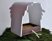 Modern  Handmade Birdfeeder - 'Canopy' series,
