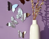 Custom RESERVED listing for ROCIO CHACON - Butterfly Mirror Wall Decor - Set of 3