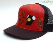 Red Robes - Hand-painted trucker hat