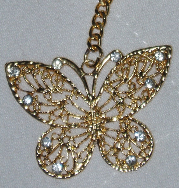 sequin butterfly keyring sustainable fashion