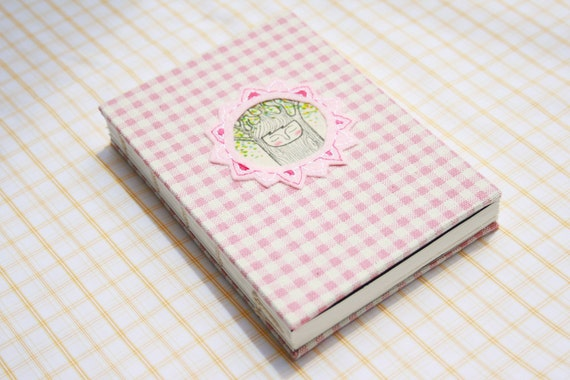 Sketch Book - Coptic Stitched - Fabric - A6 size - Mrs.Monoko