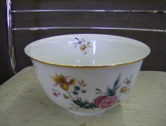 Independence Day July 4th Holiday American Heirloom Bowl by Avon 1981