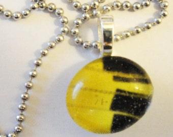 Glass Drop Pendant Necklace (36)