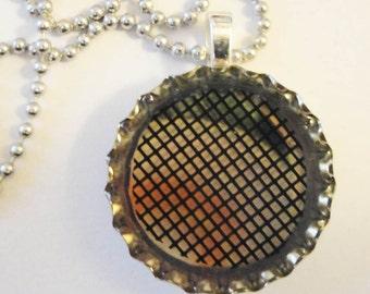 Bottle Cap Pendant Necklace (40)