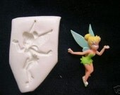 TINKER BELL FAIRY Polymer clay push mold Handmade With Instructions