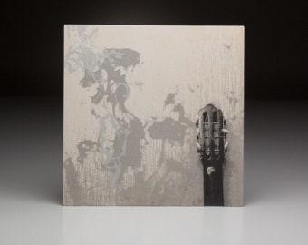 Screen printed music art- The Wallflowers