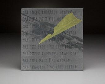 Screen printed music art- Stephen Kellogg and The Sixers