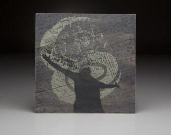 Screen printed music art- The Frames