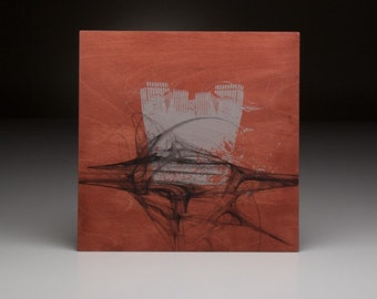 Screen printed music art- Gavin Rossdale