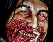 """ZOMBIES 6x8"""" Custom Zombie Portrait."""
