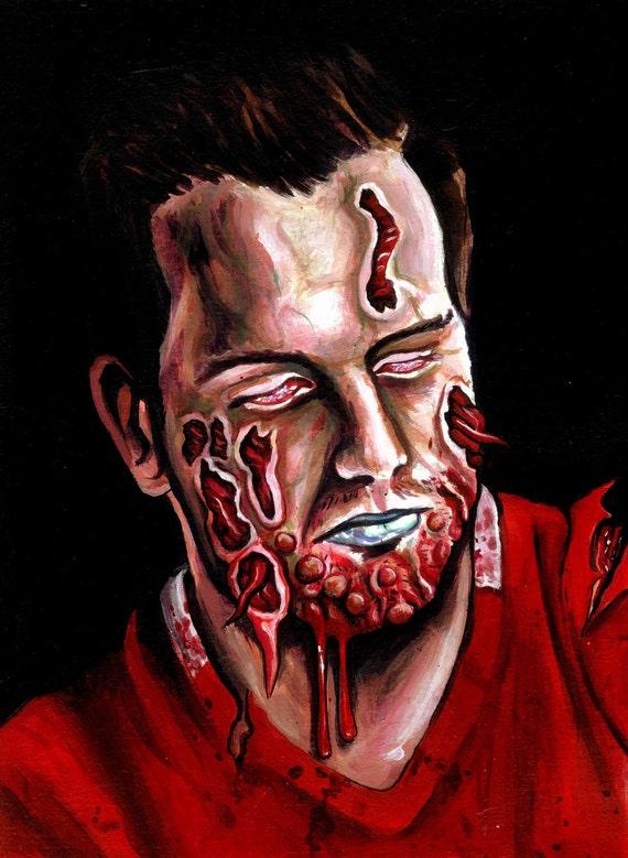 """Custom zombie Portraits 8x11"""""""
