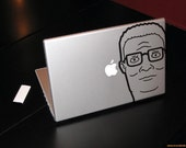 Hank Hill, King of the Hill Decal Laptop Macbook