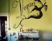 Vegan Beet Love Giant Wall Decal Kitchen