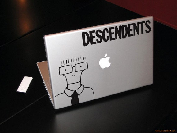 The Descendents Decal Macbook laptop sticker