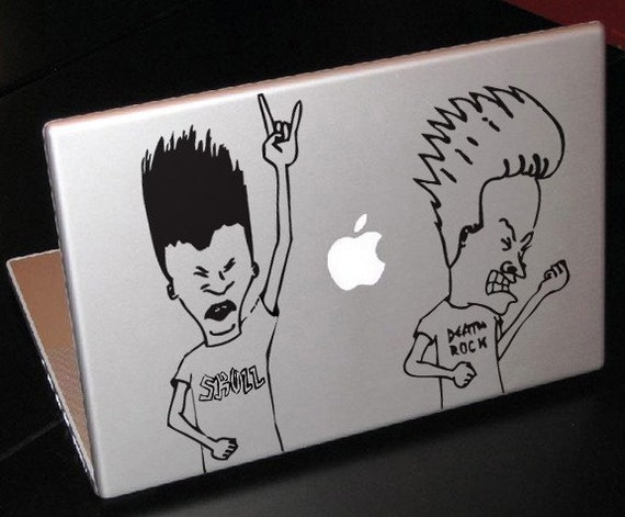 Beavis and Butthead Decal Macbook laptop