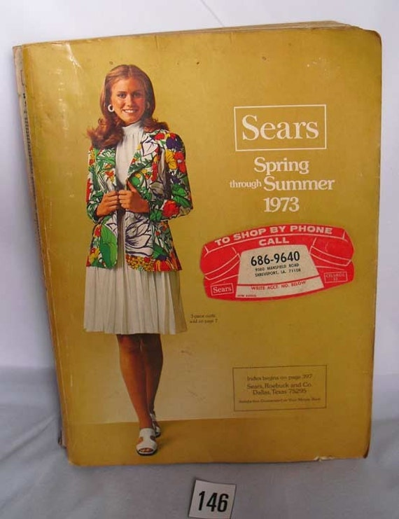 1973 - Complete Spring and Summer Sears Catalog - 1093 pages.