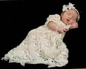 Kaitlyn's Blessing Dress Thread Crochet Pattern (950)