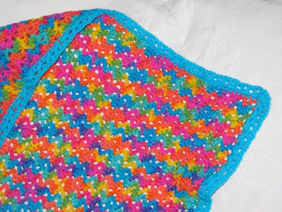 Crochet Rainbow Baby Blanket Pattern By Flavia : Unavailable Listing on Etsy